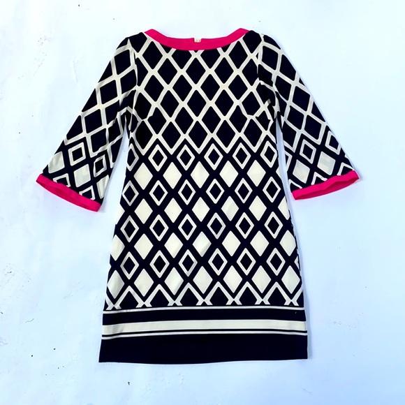 geometric shift dress tunic dress mod
